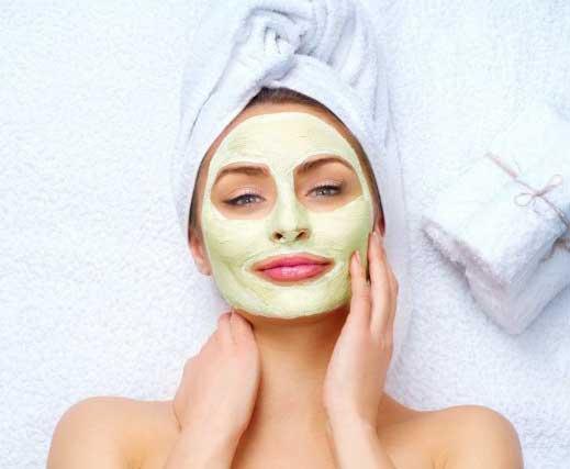 Maschera per il viso naturale o bio